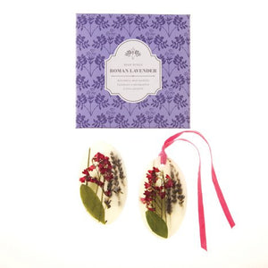 Roman Lavender Oval Botanical Wax Sachet Set