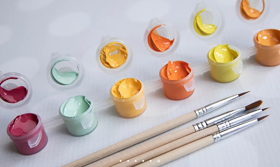 Paint By Number Kit- Blooms