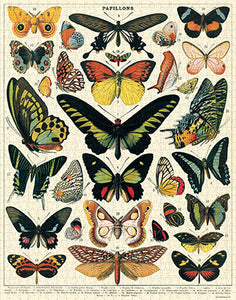 NEW! Vintage Style Puzzle - Butterflies