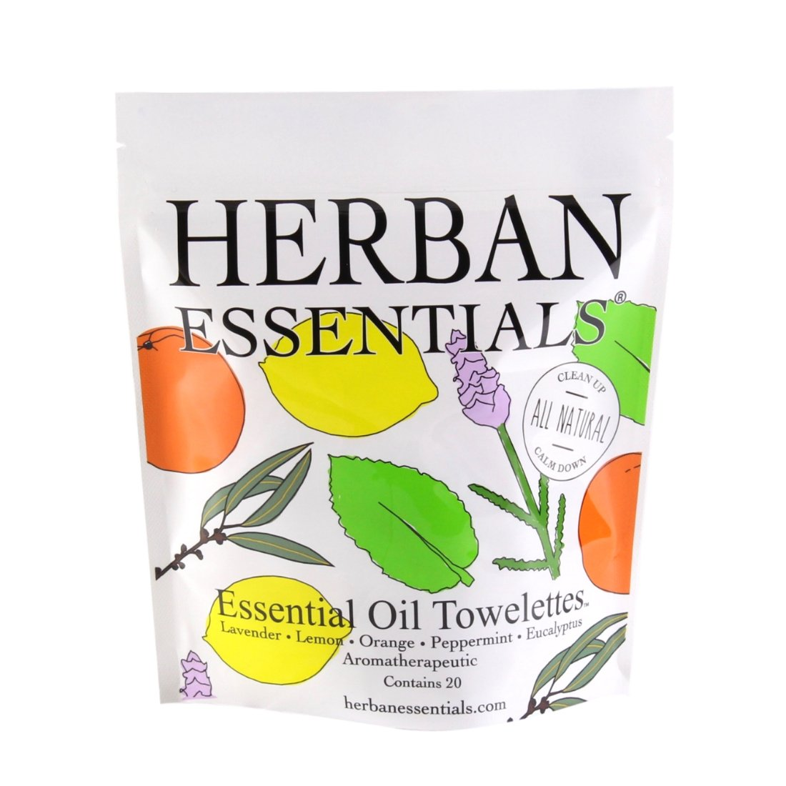 Herban Assorted Towelettes
