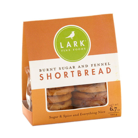 Lark Burnt Sugar and Fennel Shortbread