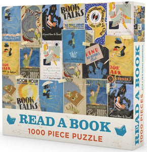 NEW! Read A Book Puzzle