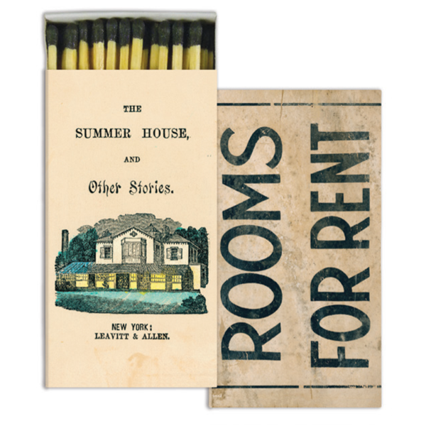 John Derian Matchbox- Rooms for Rent