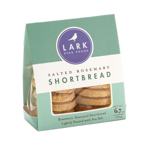 Lark Salted Rosemary Shortbread