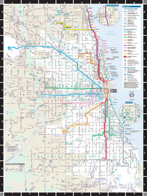 CTA Transit - Chicago Subway Map Puzzle