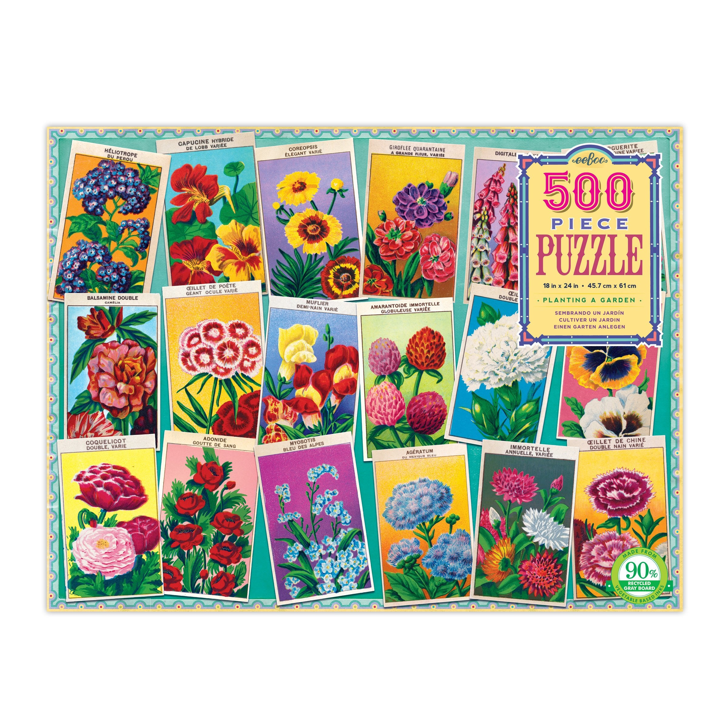 French Seed Packet Puzzle