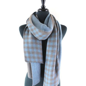 Checkmate Crinkle Scarf- Assorted Colors