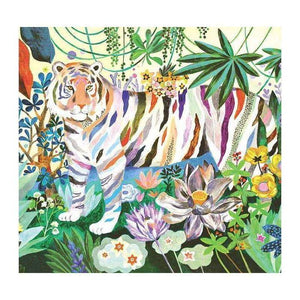 NEW! Djeco Rainbow Tigers Puzzle