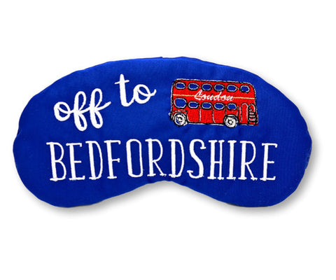 Sleep Mask-Off to Bedfordshire