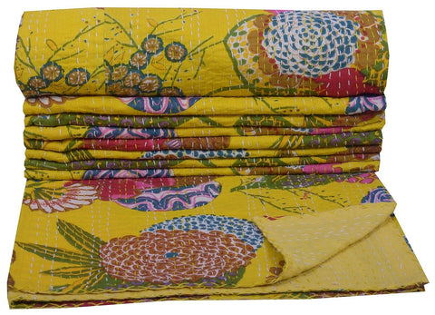 Kantha Throw-Dijon