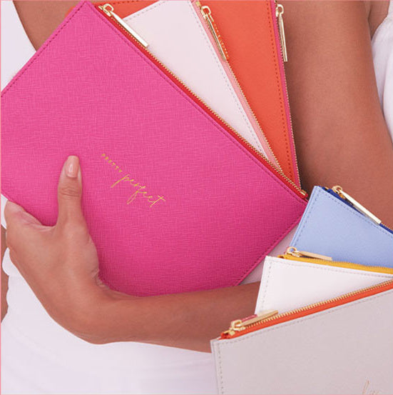 Katie Loxton Color Pop Pouch-Assorted Colors