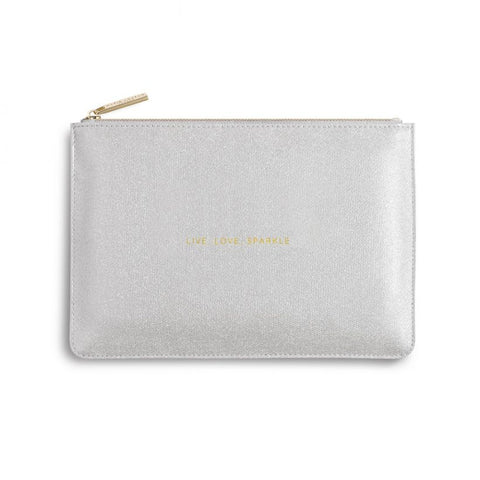 Katie Loxton Perfect Pouch-  Live Love Sparkle