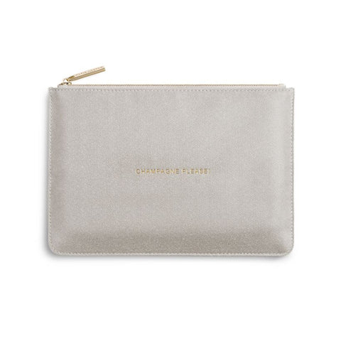 Katie Loxton Perfect Pouch- Champagne Please