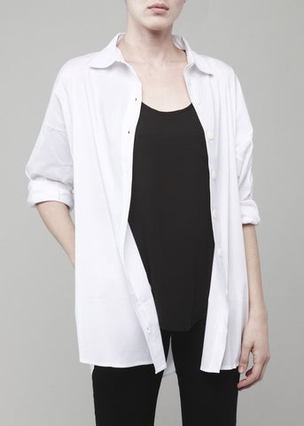 Dolman Sleeve Blouse- White
