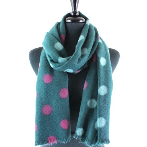 Polka Dot Scarf-Assorted colors