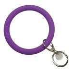 Silicone Key Ring- Assorted Colors