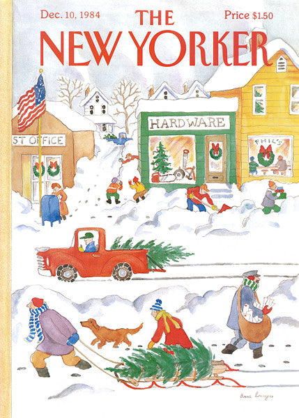 New Yorker Puzzle-Snow Day