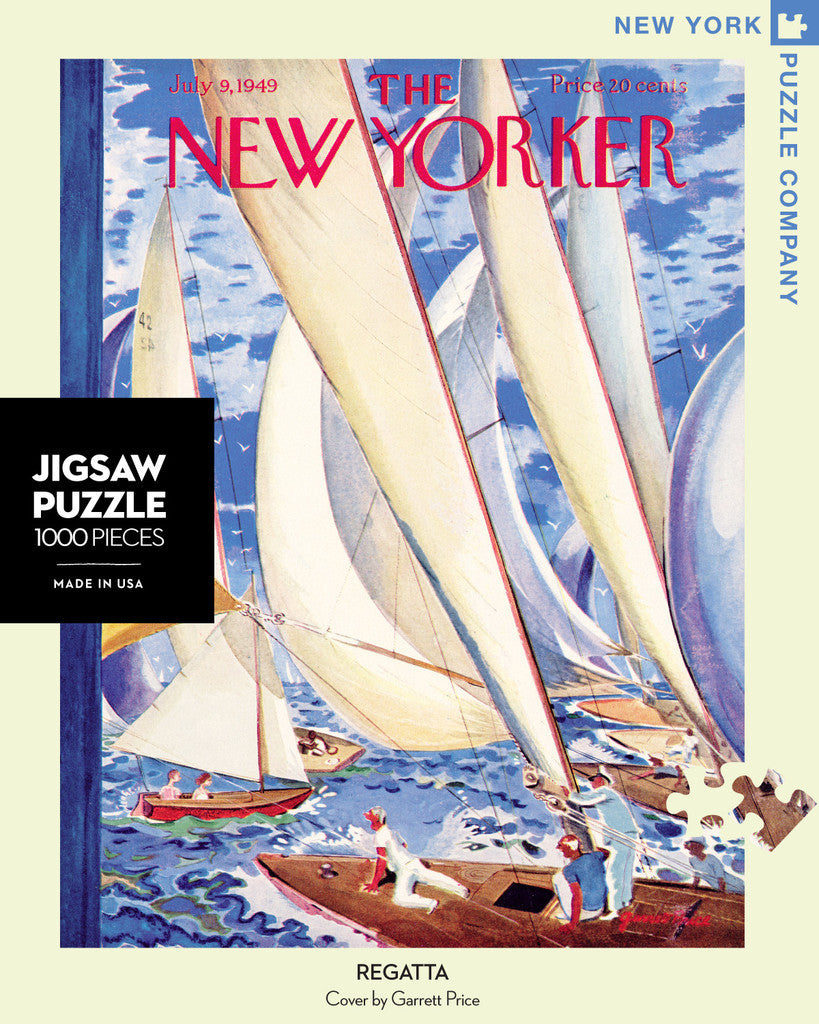 New Yorker Puzzle-Regatta