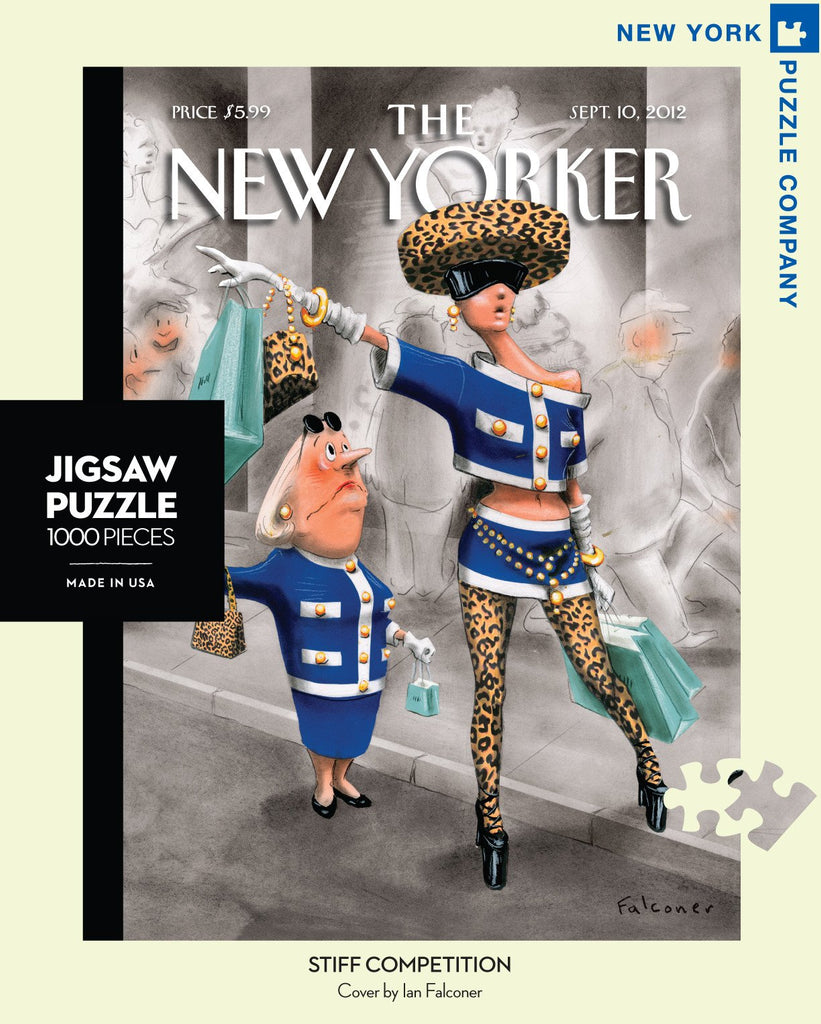 New Yorker Puzzle- Stiff Competion