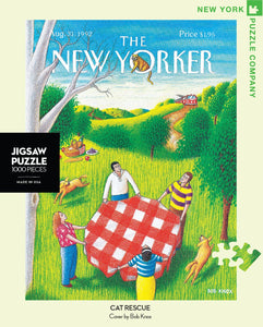 New Yorker Puzzle- Cat Rescue