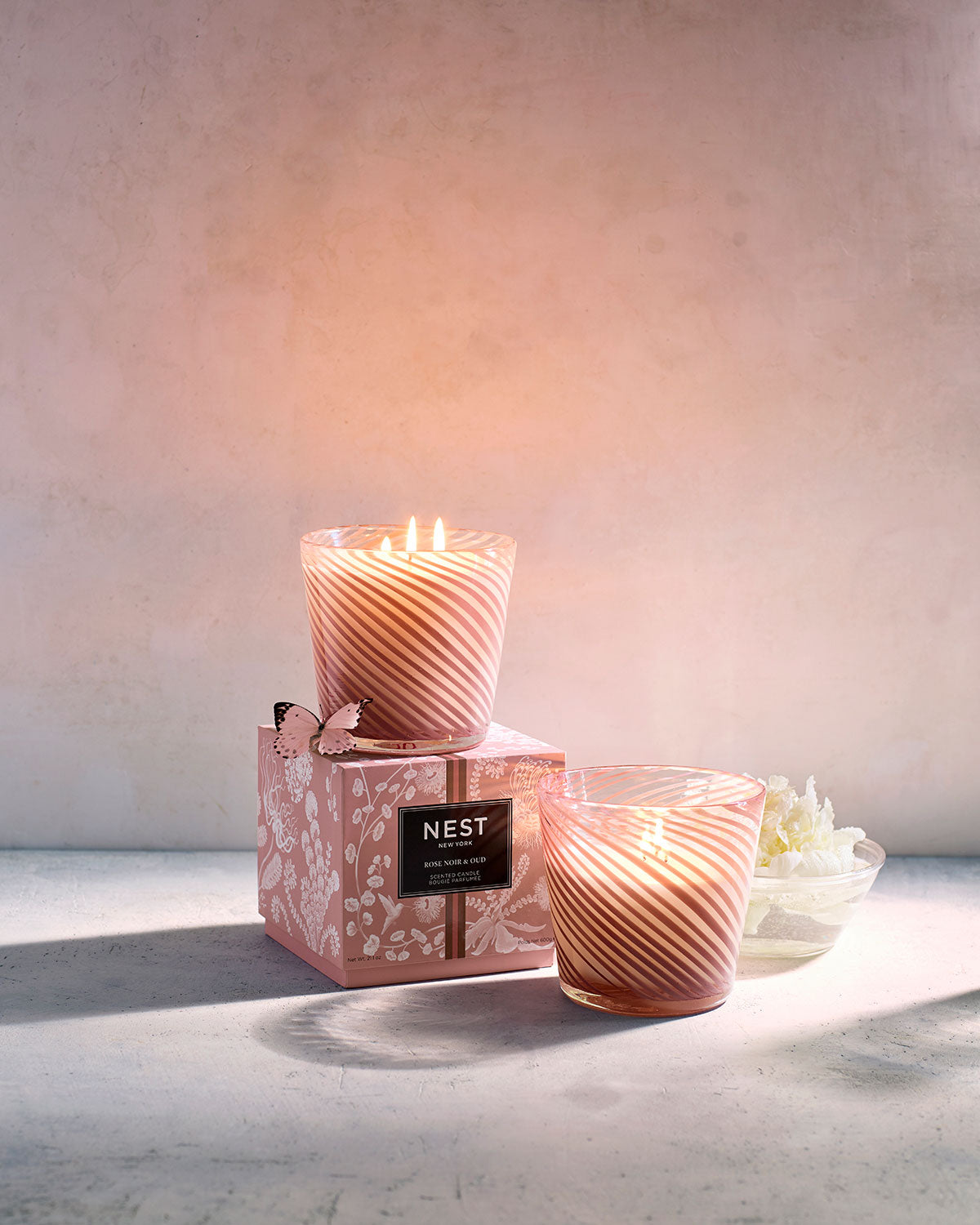 NEW! Rose Noir & Oud Specialty 3-Wick Candle