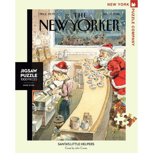 New Yorker Puzzle- Santa's Little Helper