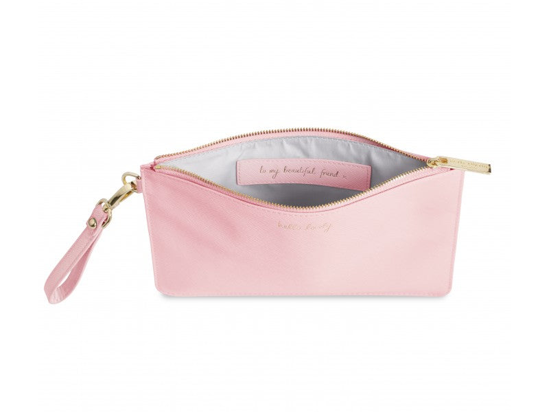 SECRET MESSAGE POUCH - HELLO LOVELY
