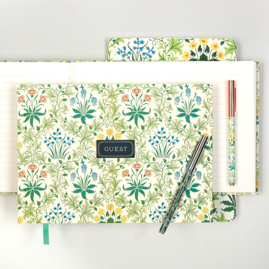 William Morris Guest Book