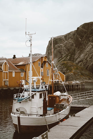 nusfjord sol and pepper vanlife