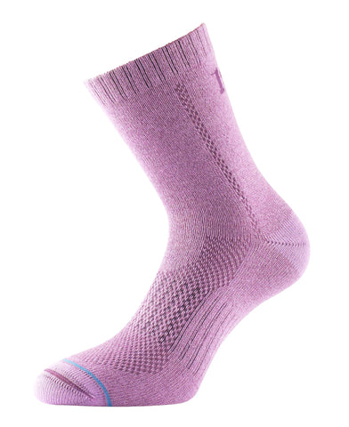 "All Terrain 5"" Crew Sock - Raspberry"