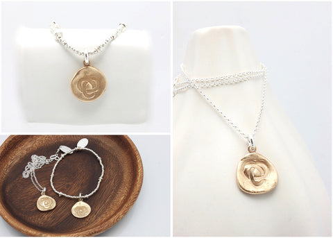 Compassion House Logo Bracelet and Necklace set