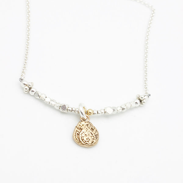 Inner Spirit: Lotus Balance Necklace - Short