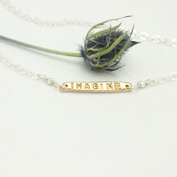Imagine Love Necklace:  Edmonton Public Library