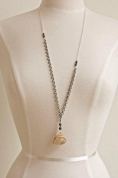 Layered Heart Necklace: Syncrude presents Fashion with Compassion  2017