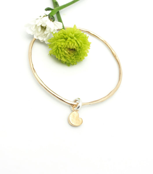 Bronze Bangle and Bronze XO Pendant
