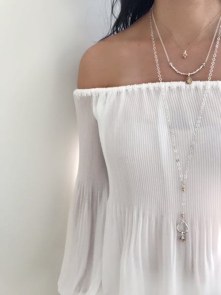 Inner Spirit: Petite Calm Necklace