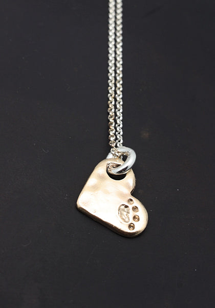 Paw Love FINE SILVER Necklace