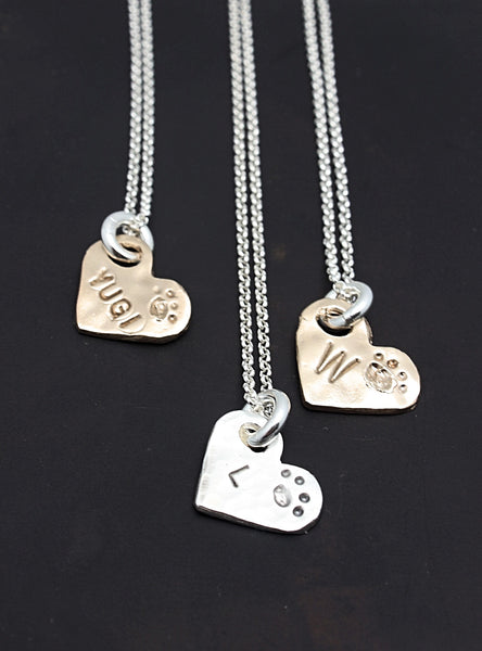 Paw Love BRONZE Necklace