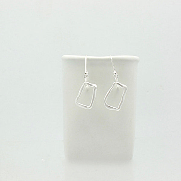 SCULPT Collection: 4 Corner Earrings