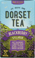 Dorset Tea Infusions- Pack of 20 tagged and enveloped teabags for catering & retail