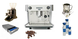 Great Value Commercial 1 group Espresso Machine Package Deal