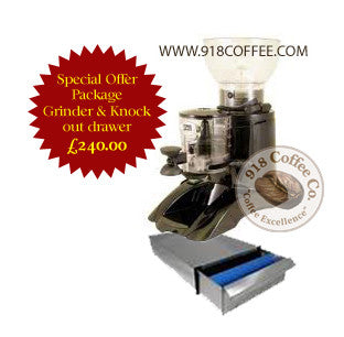 Grinder & Knock out drawer package