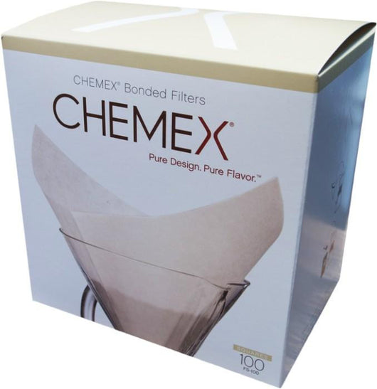 Chemex Square Bonded Filter Papers - Pack of 100