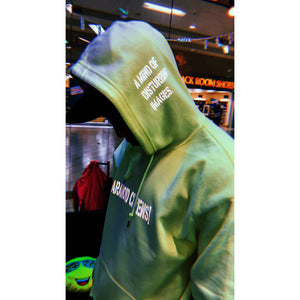 "Paranoid Citizens ""After Shock"" Reflective Hoodie - Hooded Sweatshirt"