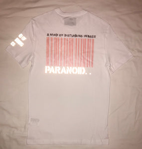 "Paranoid Citizens ""Oblivion"" reflective T Shirt - Short Sleeves Top"