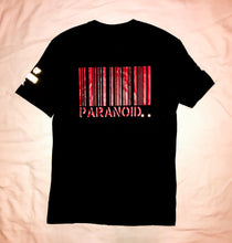 "Load image into Gallery viewer, Paranoid Citizens ""Paranoia"" Reflective T Shirt - Short Sleeves Top"
