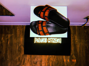 Men's Paranoid Citizens Logo Slides - Street Flat Slipper Online