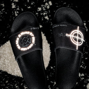 Men's Paranoid Citizens logo slides