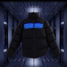 "Load image into Gallery viewer, [PRE-ORDER] Paranoid Citizens ""Hologram"" Puffer Jacket"