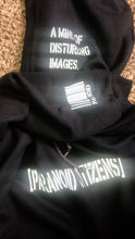 "Load image into Gallery viewer, Paranoid Citizens ""After Shock"" Reflective Hoodie - Hooded Sweatshirt"
